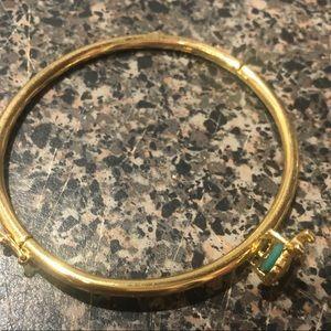 Kate Spade turquoise ladybug bracelet